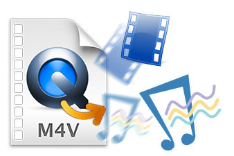 M4V to Plain Video & Audio