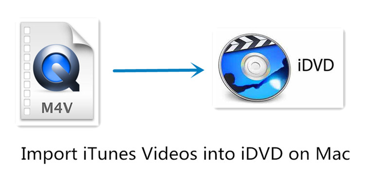 import iTunes videos into iDVD