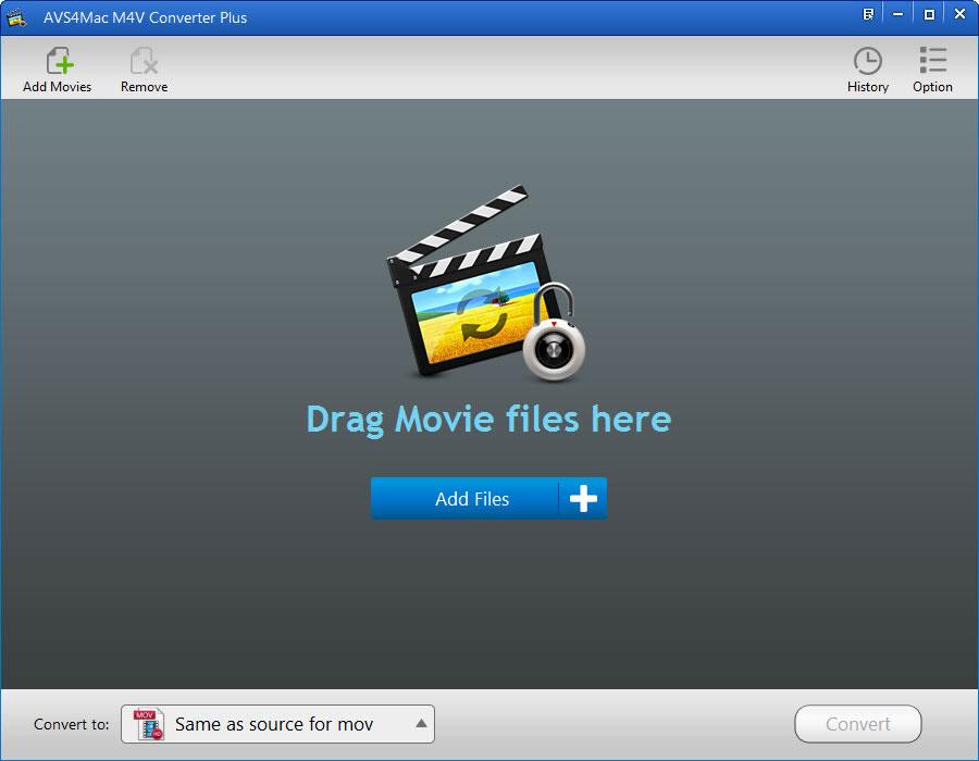 AVS4Mac M4V Converter Plus for Windows screenshot