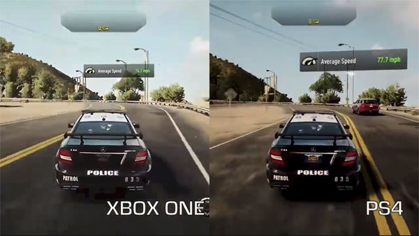 PlayStation 4 VS Xbox One Ps4 Graphics Vs Xbox One Graphics