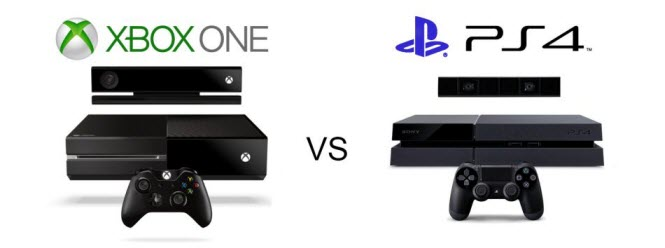 image of ps4 and xbox one