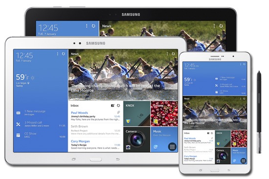 itunes to galaxy tab pro