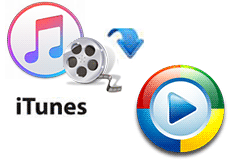 Play iTunes videos on Media Players