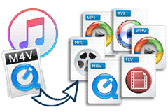 Convert iTunes M4V to Unprotected Formats