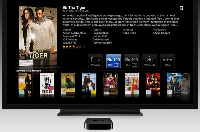 play and watch iTunes movies on TV